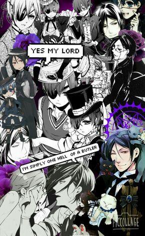 Anime Collage Tumblr Black Butler Black Butler Black Butler
