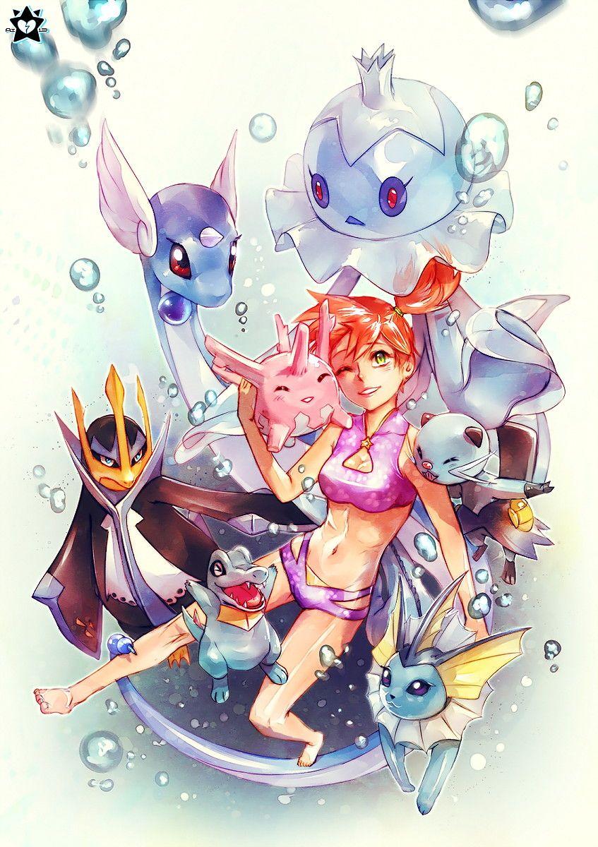 Water types Pokemon, Awesome anime, Pokemon art