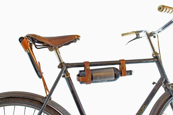 U Lock Holster Bicycle Leather Bicycle Bike