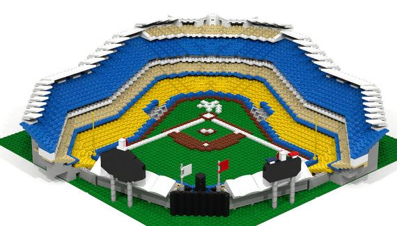 Lego Dodger Stadium 2500 Pieces Go Dodgers Pinterest