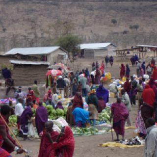 Shopping day in Kenya
