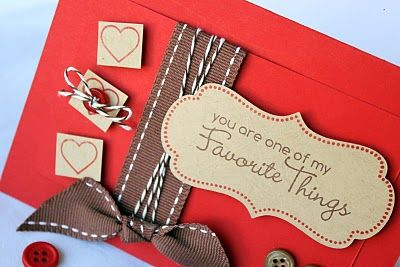 Favorite Things #cards #crafts