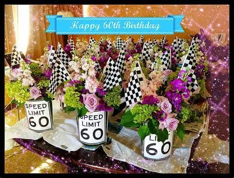 60th Birthday Centerpieces On Pinterest