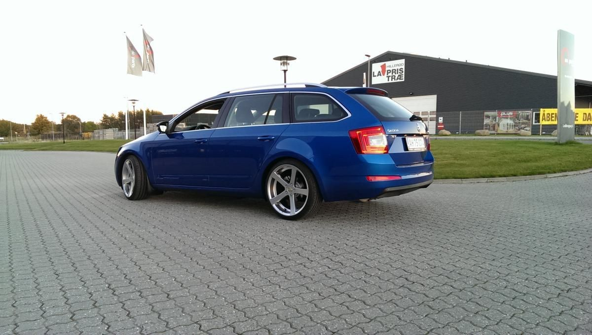 Eibach Pro Kit Spring Kit Octavia Vrs 5e Estate 2012 On Skoda