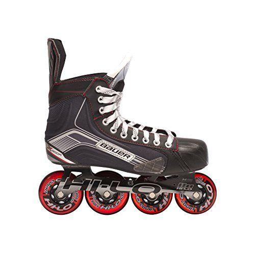 Bauer 1047267 Junior Vapor X400r Roller Hockey Skate Black Size 4 Click On The Image For Additional Details This Is An Am With Images Roller Hockey Skates Roller Skate