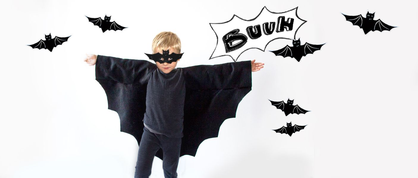 diy halloweenkost m fledermaus kost me boy costumes. Black Bedroom Furniture Sets. Home Design Ideas