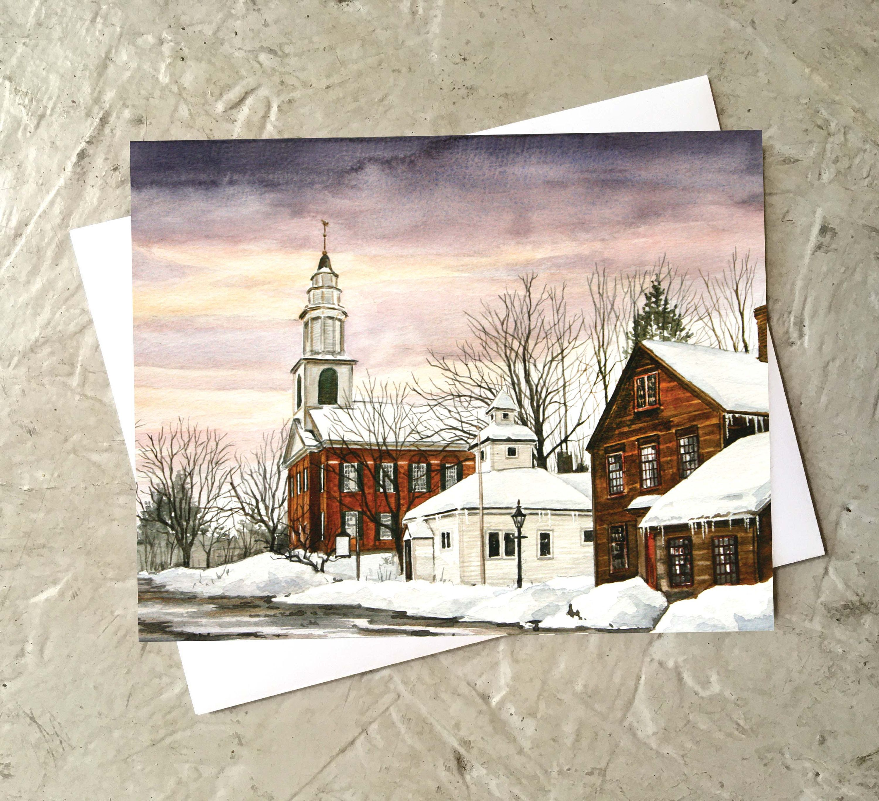 Art Card Collection (8 assorted blank cards)