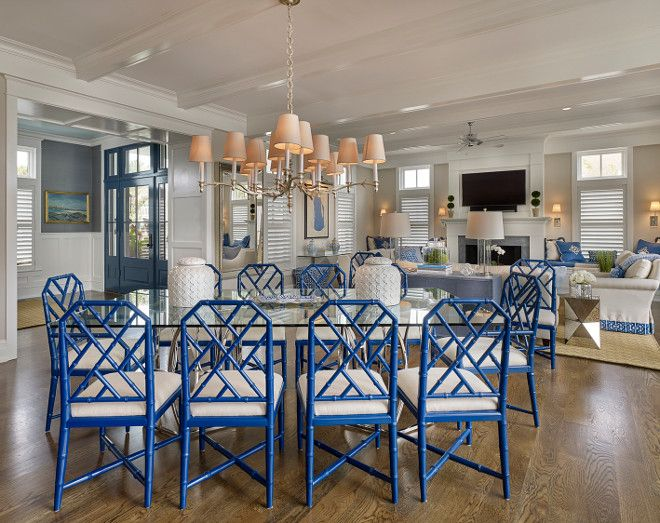 seaside shingle coastal home | blue and white | pinterest | faux