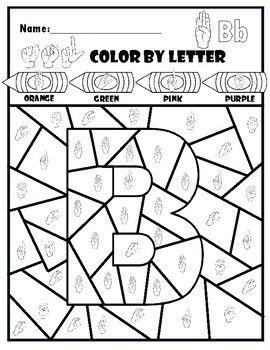 Pin On Asl Kindergartenworksheets asl coloring pages p