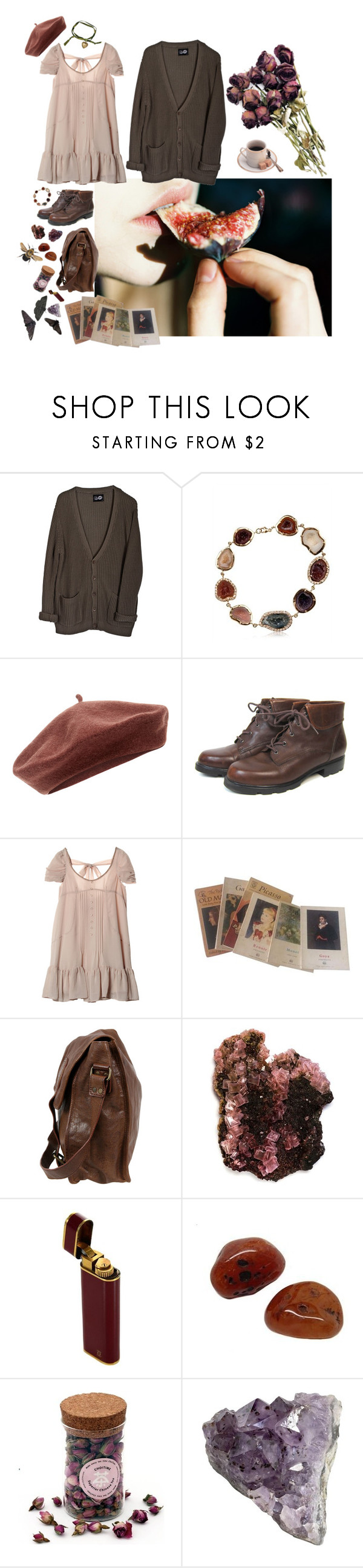 """""""Fig"""" by faelike ❤ liked on Polyvore featuring Cheap Monday, Kimberly McDonald, Accessorize, Monet and VIPARO"""