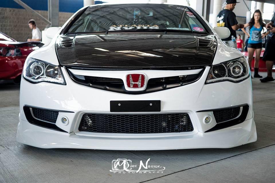 Fd2 Front With Retrofitted Lights Pin Fogs J S Air Vents Honda Civic Si Jdm Honda Honda Civic