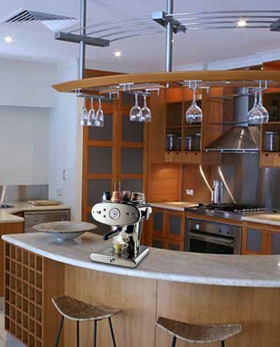 Coffee Bar Design Layout Espresso Machine Fits Perfectly In