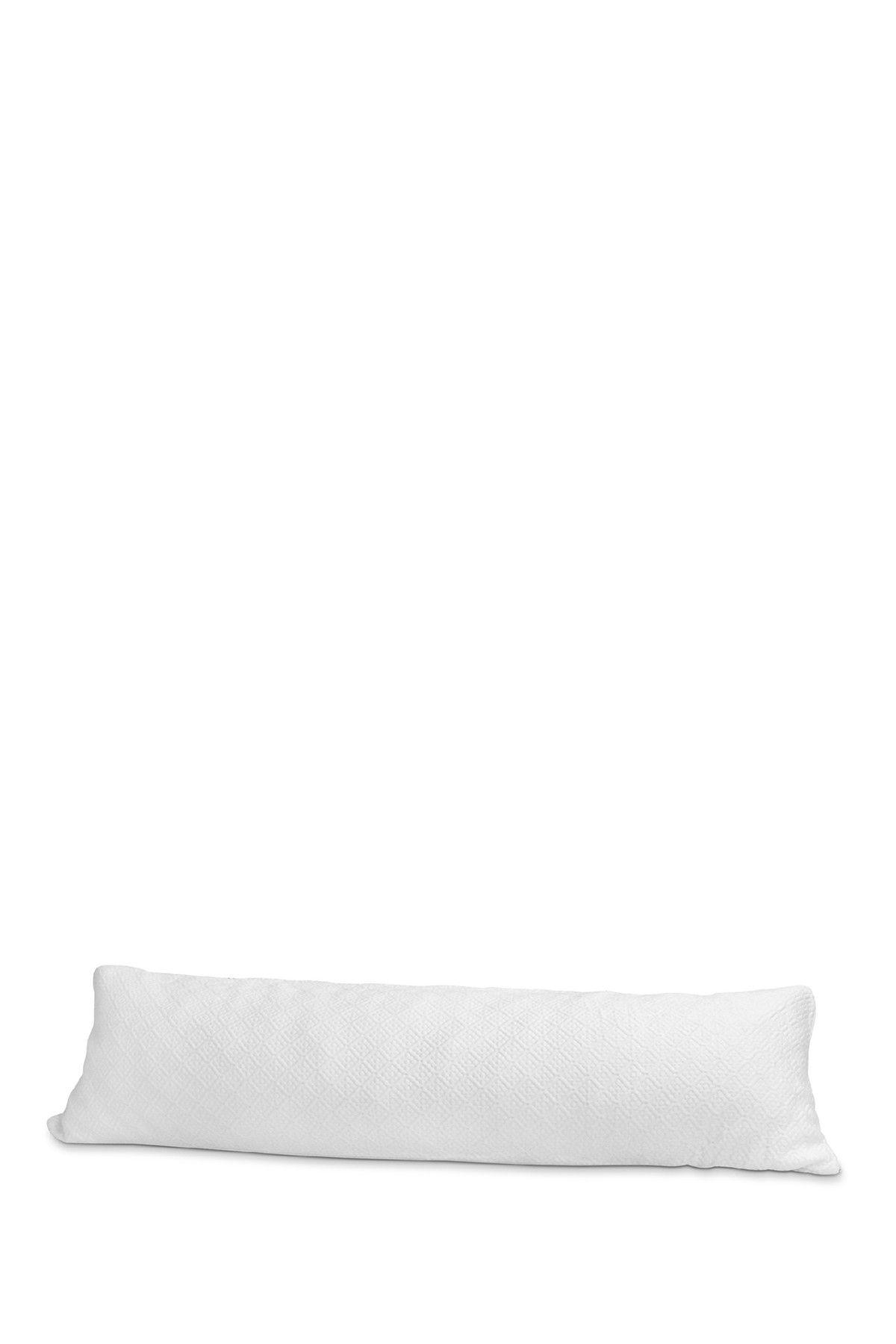 Rio Home Pure Rest Memory Foam Body Pillow White Memory Foam Body Pillow White Pillows Bed Pillows