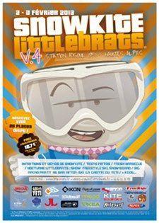 RISOUL - 2 et 3 février - Snowkite Littlebrats - Stages d'initiation de snowkite et kitesurf, démos, tests matos - Tarifs : 167€ le week-end - Office du Tourisme www.littlebrats.fr