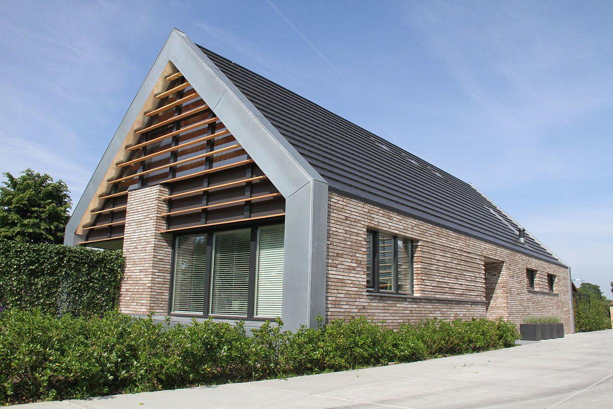 Constructiebureau Keetels Woning Te Veghels Buiten: idee architettura