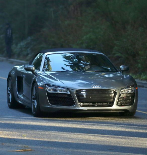 Revealed Christian Greys Audi R Cruises Onto The Shades Film - Audi car in 50 shades of grey