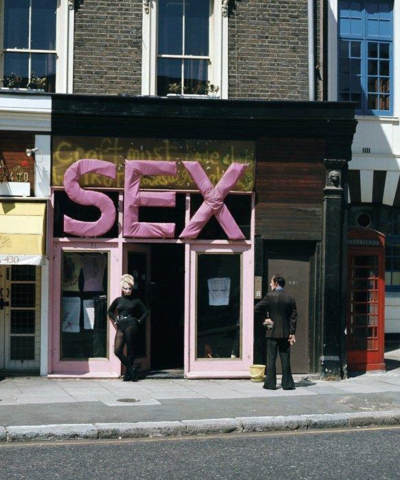 #SEX shop on King's Road, Dazed Digital #LONDON #VIVIANWESTWOOD
