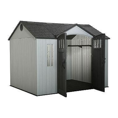 Lifetime Shed With Side Entry 10 X 8 Sam S Club Plastic Sheds Outdoor Storage Sheds Shed