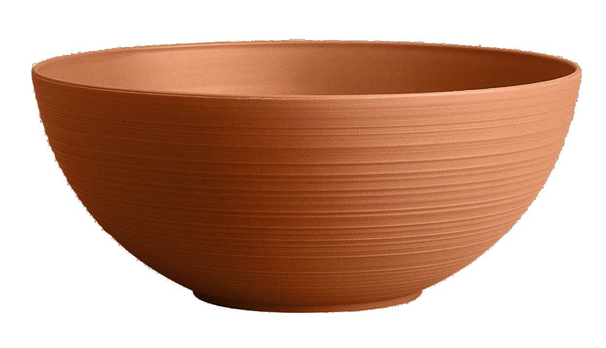 Amazon Com Bloem Pb12 46 Dura Cotta Planter Bowl 12 Inch Terra Cotta Patio Lawn Garden Front Yard Landscaping Design Planters Planter Pots