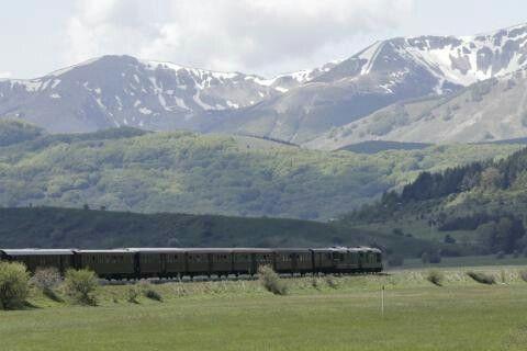 Treno storico Sulmona - Roccaraso