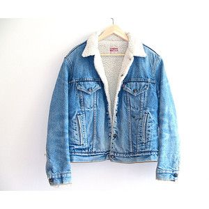 7010f4fe87fc Image result for old denim jacket with sheepskin