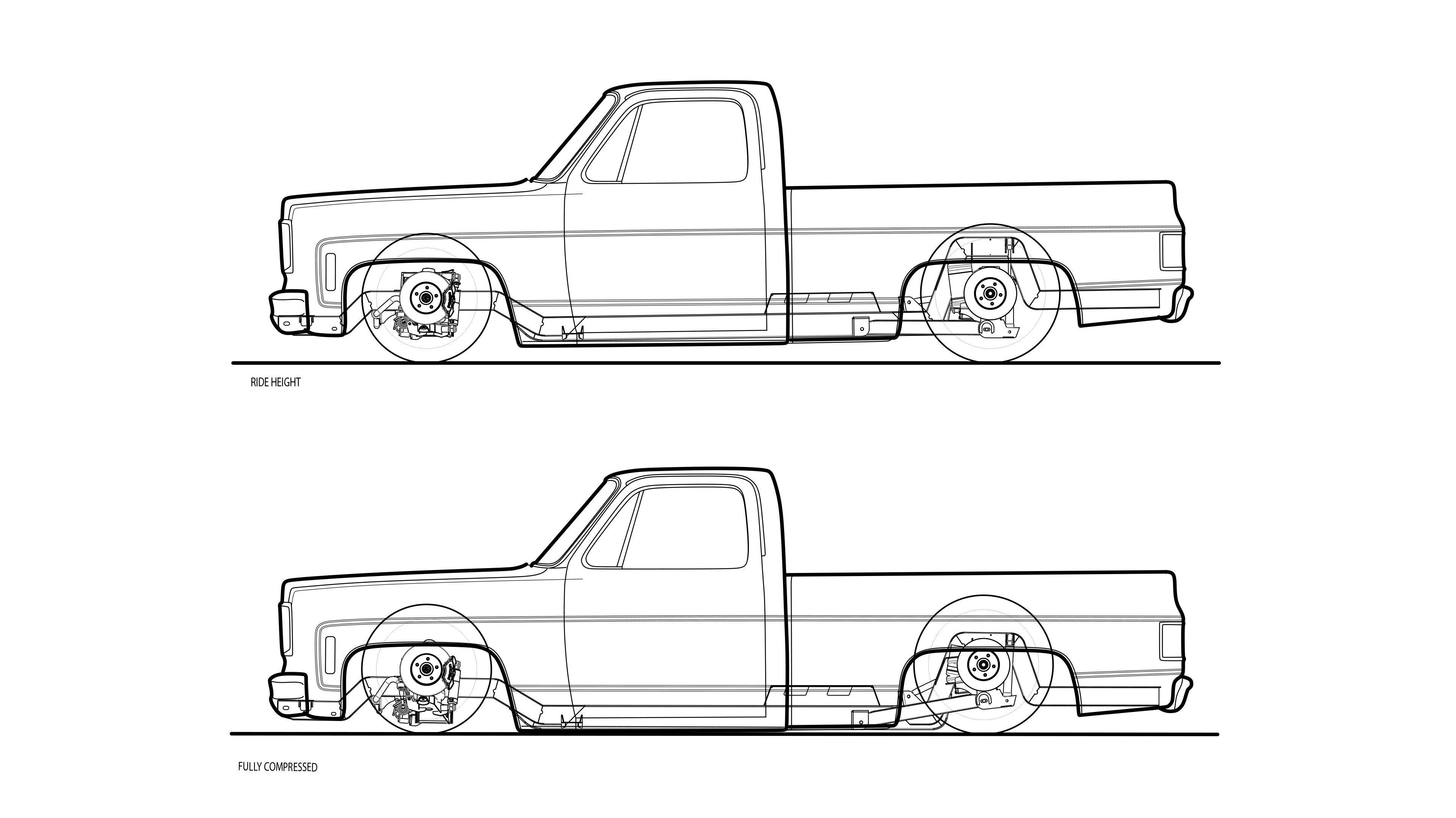 87 C10 Truck Spec Chassis
