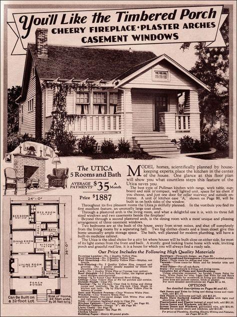 1920s craftsman bungalow montgomery ward 1930 modern