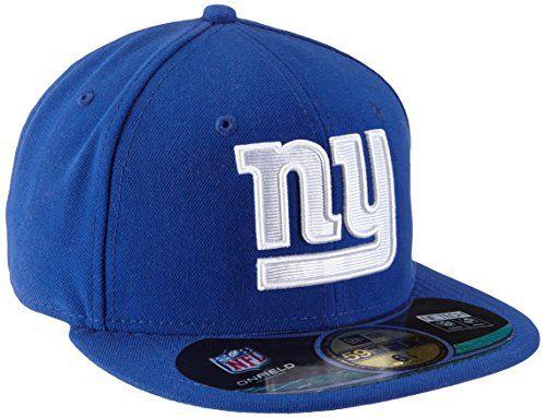 NFL New York Giants On Field 5950 Game Cap e0916c920e58