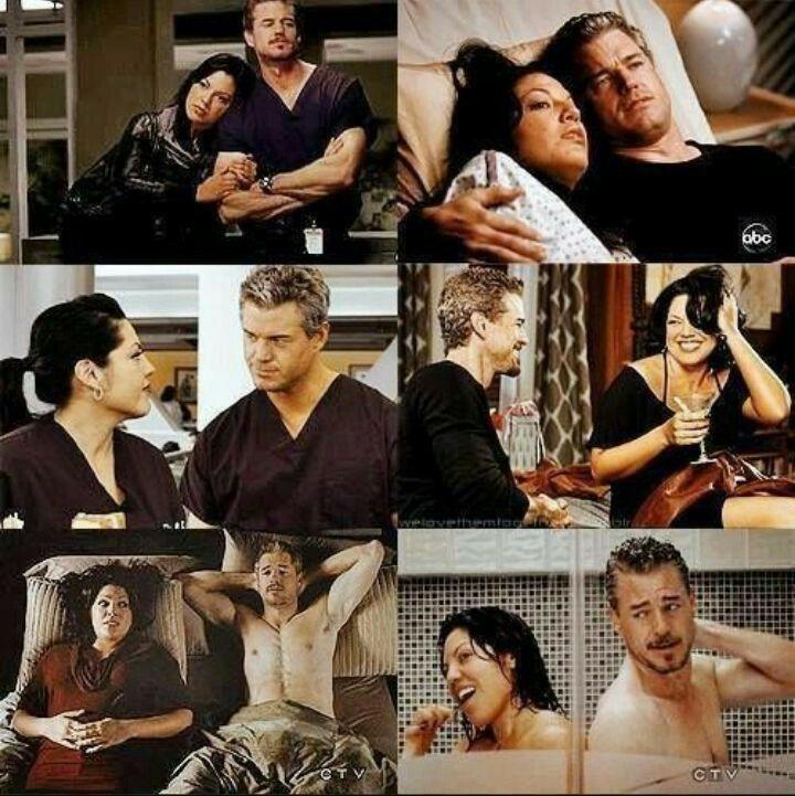 Callie and Mark | Grey\'s Anatomy | Pinterest | Frases filosoficas ...
