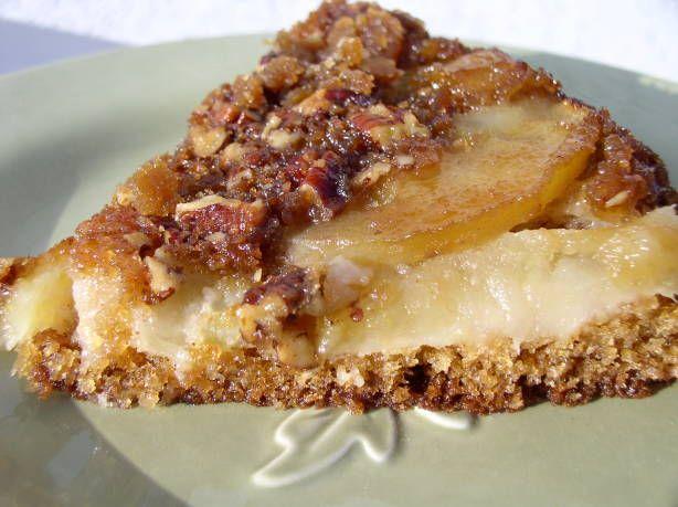 Apple Pecan Upside Down Cake Recipe - Food.com
