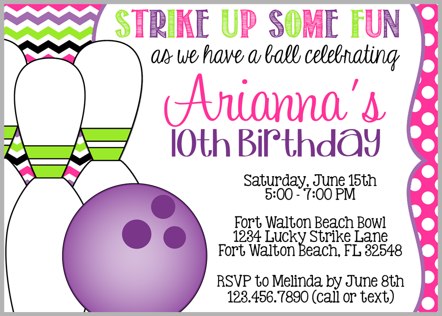 Teenage Girl/'s Birthday Party Tropical Birthday Party Invitation DIGITAL DOWNLOAD Printable Any Age