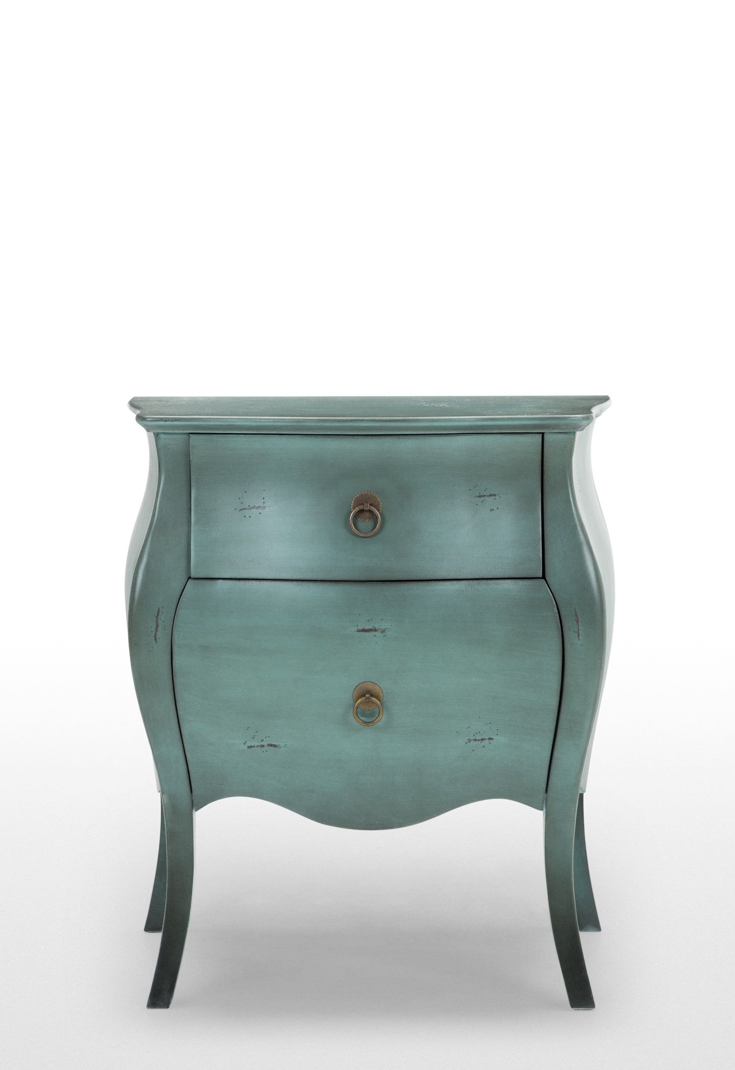 The Bourbon Bedside Table, In Azure Blue. Sophisticated Storage Inspired By  18th Century French Design. £179. MADE.COM