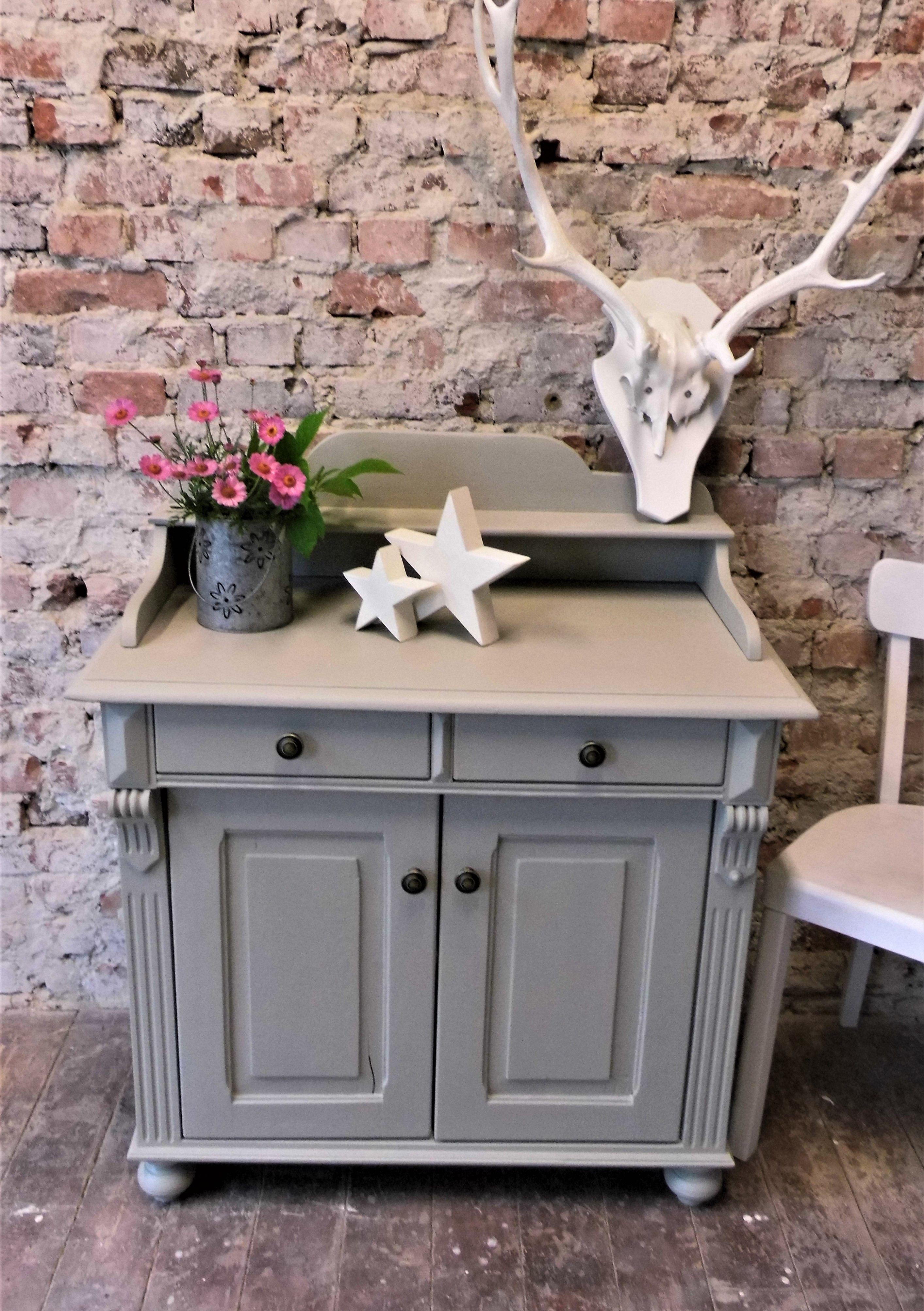 Cabinet Chalk Color Chest Dresser Cabinet Vintage Scandinavian Design Display Case Shabby Antique Dressing Shingled Cabinet Skandi In 2020 Scandinavian Design Chalk Scandinavian