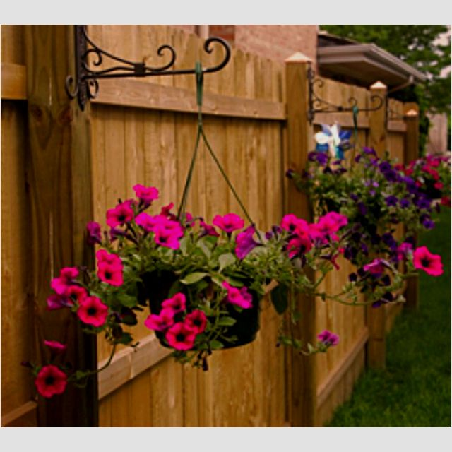 Fence Plant Hangers: Love These Pot Hangers!!!