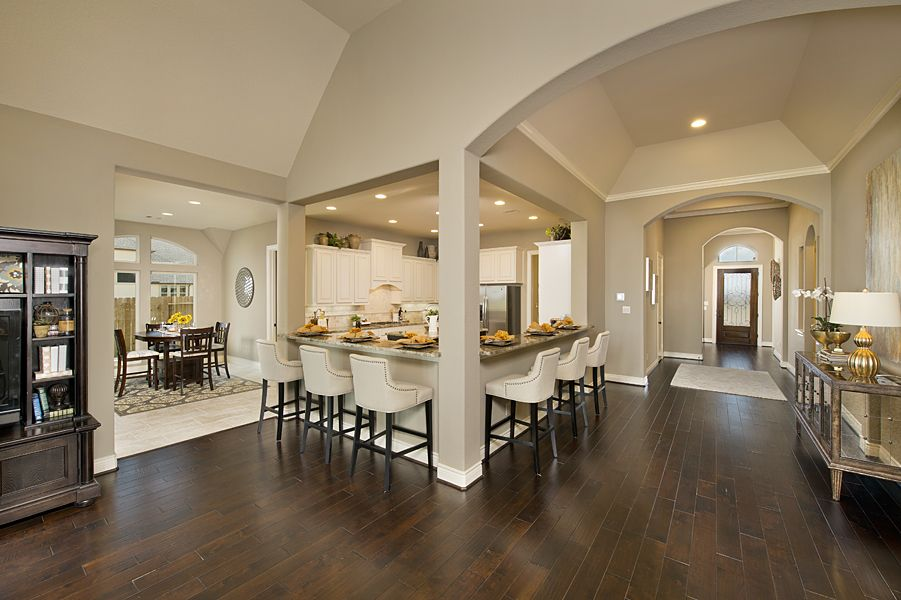 Model Home Foyer Pictures : New ventana lakes model home 3 257 sq. ft. kitchen & foyer
