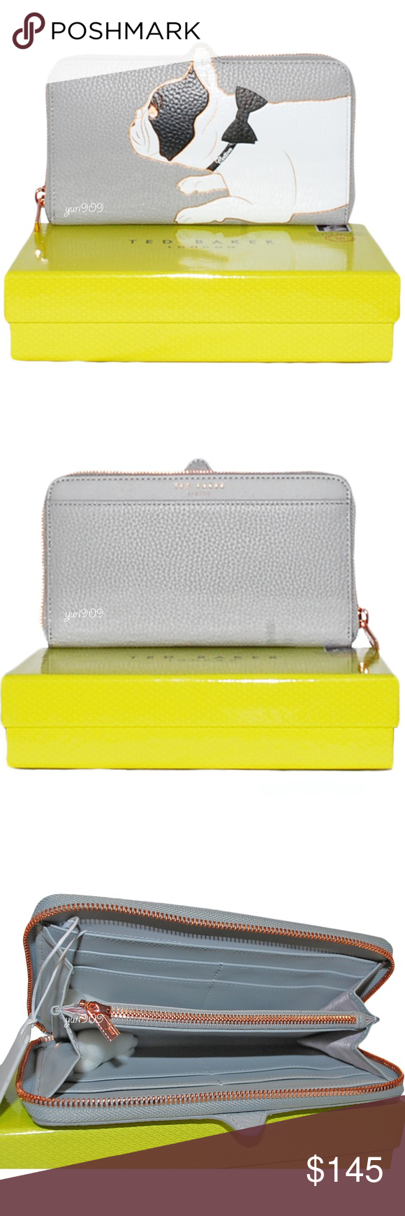 Ted Baker Rumi Dog Zip Around Matinée Wallet NWT Ted Baker