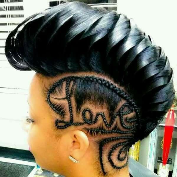 Nice Coiffure Coiffure Tresse Tresses Afro Americaines