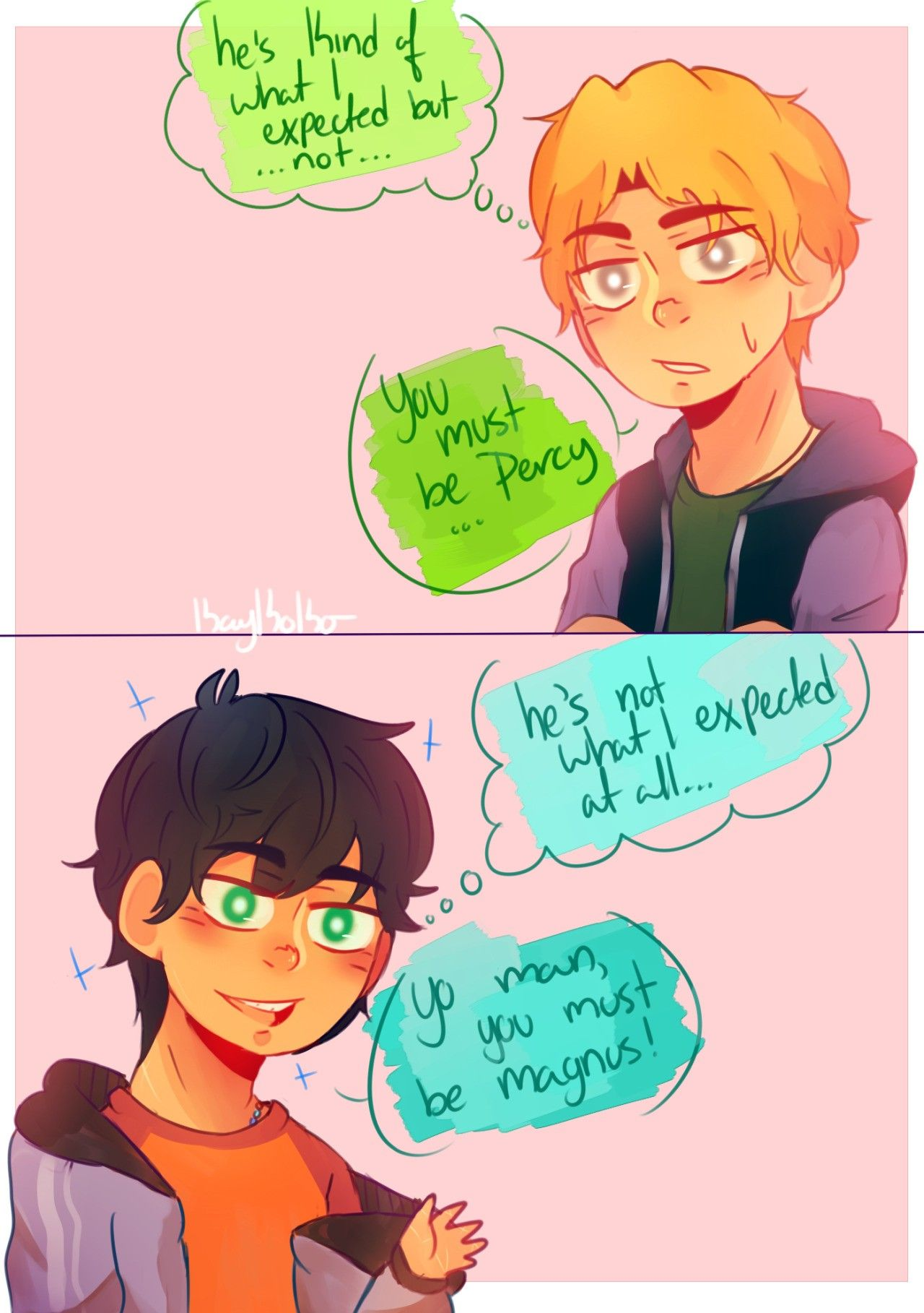 Heroes Of Olympus Magnus Chase Crossover Comic 1 3 Percy