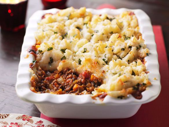 Shepherd S Pie With A Zing The Recipe Gives You A Choice Of Vegetarian Or Lamb Cottage Pie Food Recipes Cottage Pie Recipe