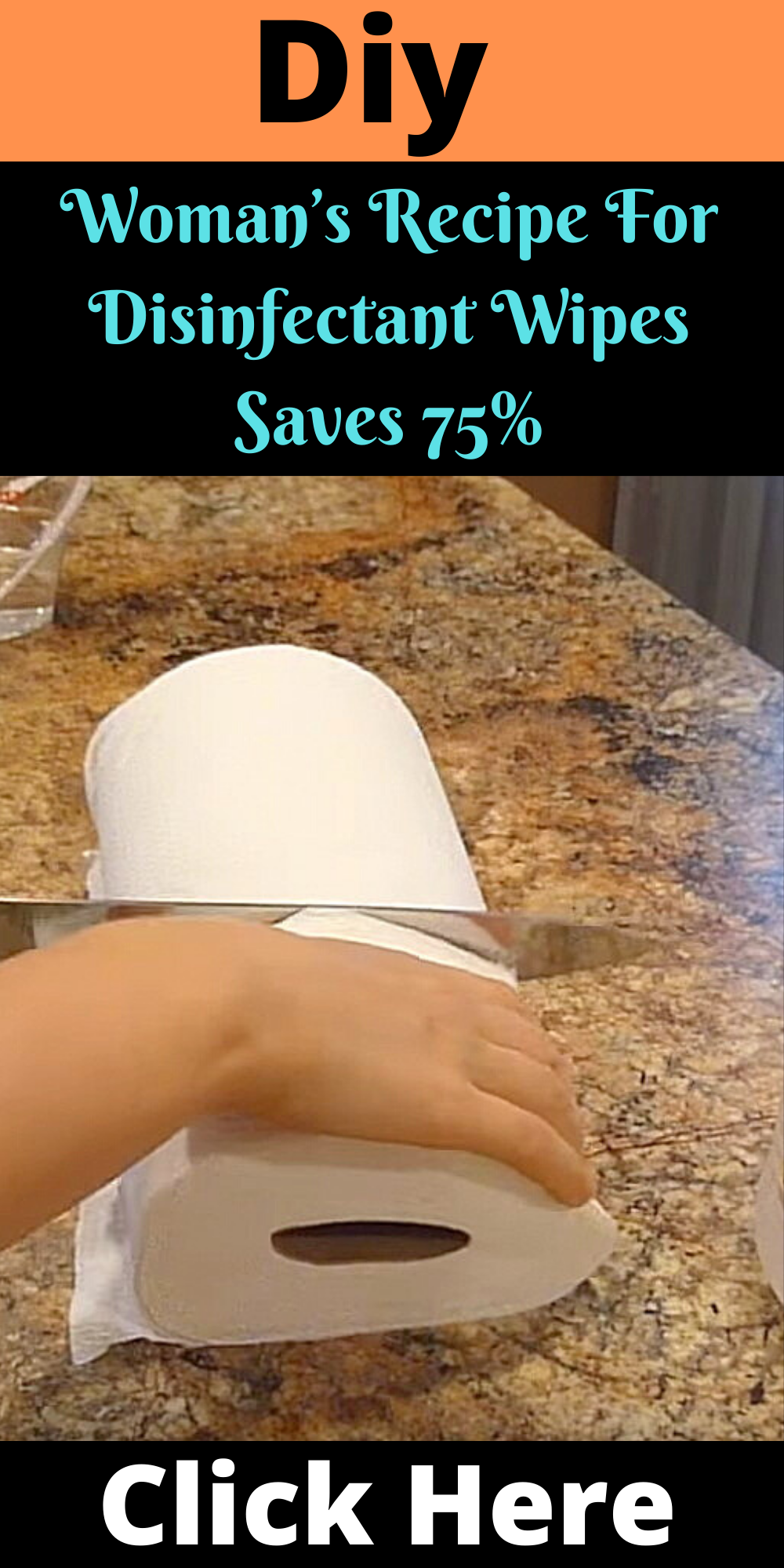Woman's Recipe For Disinfectant Wipes Saves 75%