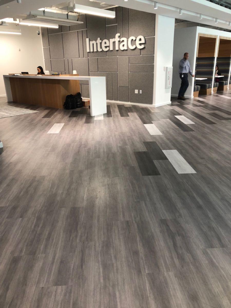 Interface Base Camp Hq In Atlanta Studio Set Lvt In 2020 Hardwood Floors Flooring Lvt