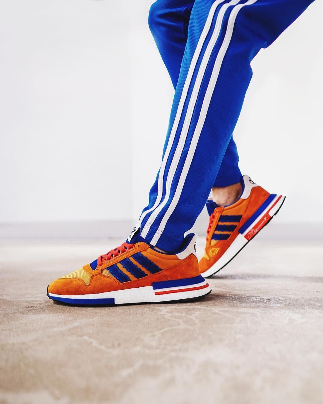 Dragonball Z x adidas Originals ZX 500 RM | Zapatos hermosos
