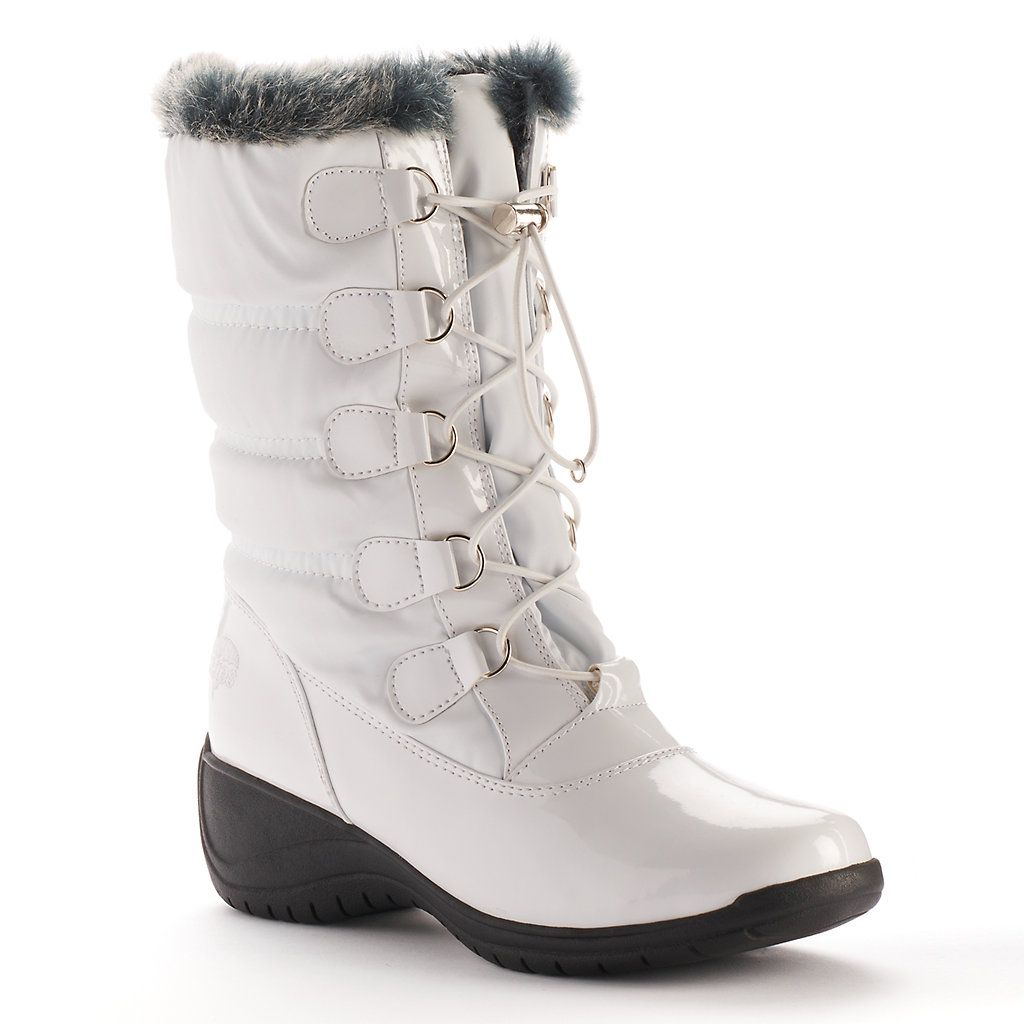totes Lisa Women's Wedge Winter Boots