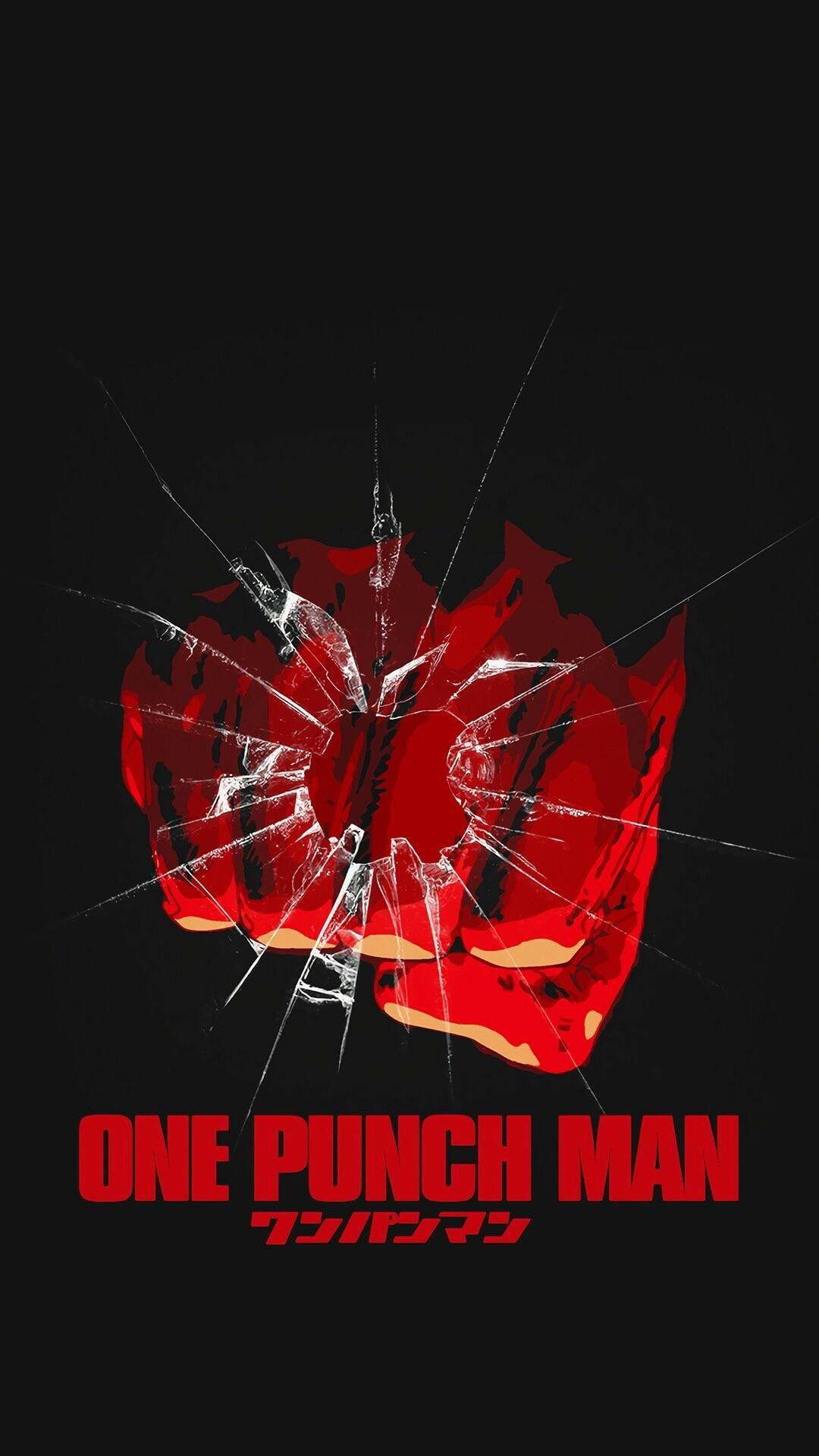 Cracked Screen One Punch Man 1080x1920 Music Indieartist Chicago One Punch Man Anime One Punch Man One Punch Man Manga