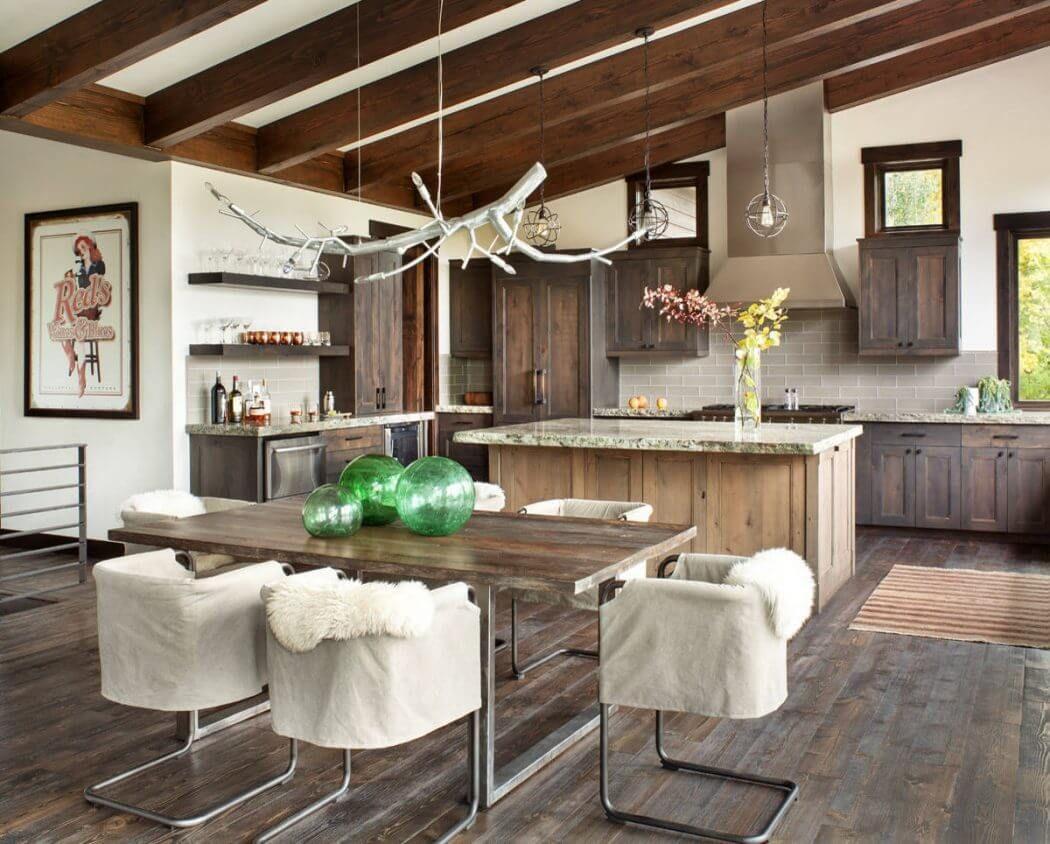 Whitefish Residence By Sage Interior Design Home Decor Kitchen