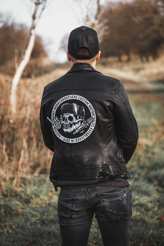 Round Large Back Patch | Harley davidson | Motorcycle