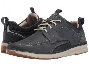 Clarks Orson Bay (Navy Nubuck) Men's Shoes