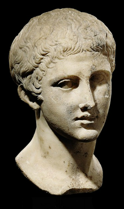 A Roman Marble Bust Of An Athlete Circa Early 1st Century A D With Head Twisted And Gazing Towards His Right Roman Sculpture Ancient Roman Art Roman Busts