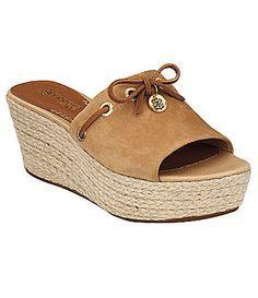 Sperry Slip-on Wedge Sandal