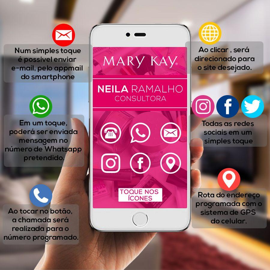 Cartão De Visita Digital Interativo Mary Kay Cartão De